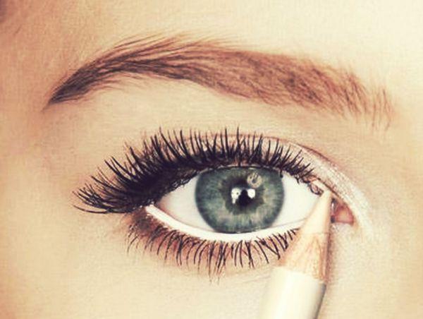 make up για ξεκούραστο βλέμμα