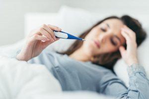 ο πυρετός είναι ένα σύμπτωμα του τοξικού σοκ