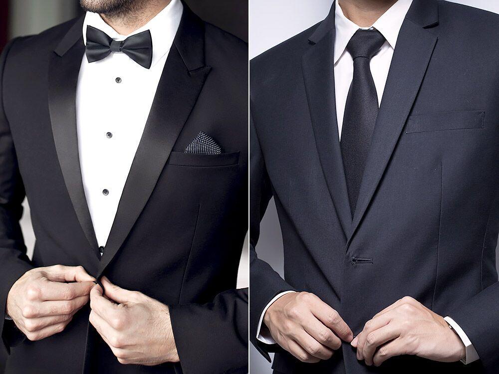 σμόκιν ή κοστούμι πρεπει να φοράνε οι άντρες;