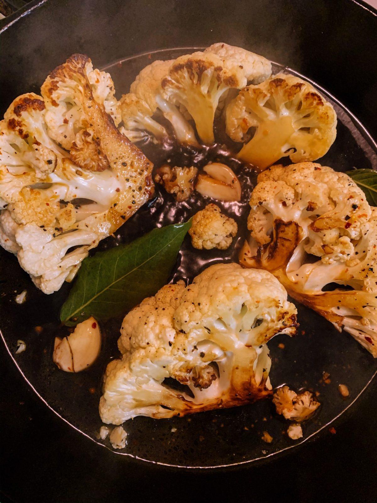 συνταγή κουνουπίδι με μπαλσάμικο για vegan