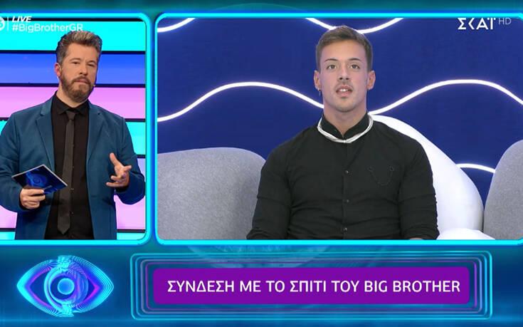 αποχώρησε από το Big Brotherπριν τον μεγάλο τελικό του Big Brother