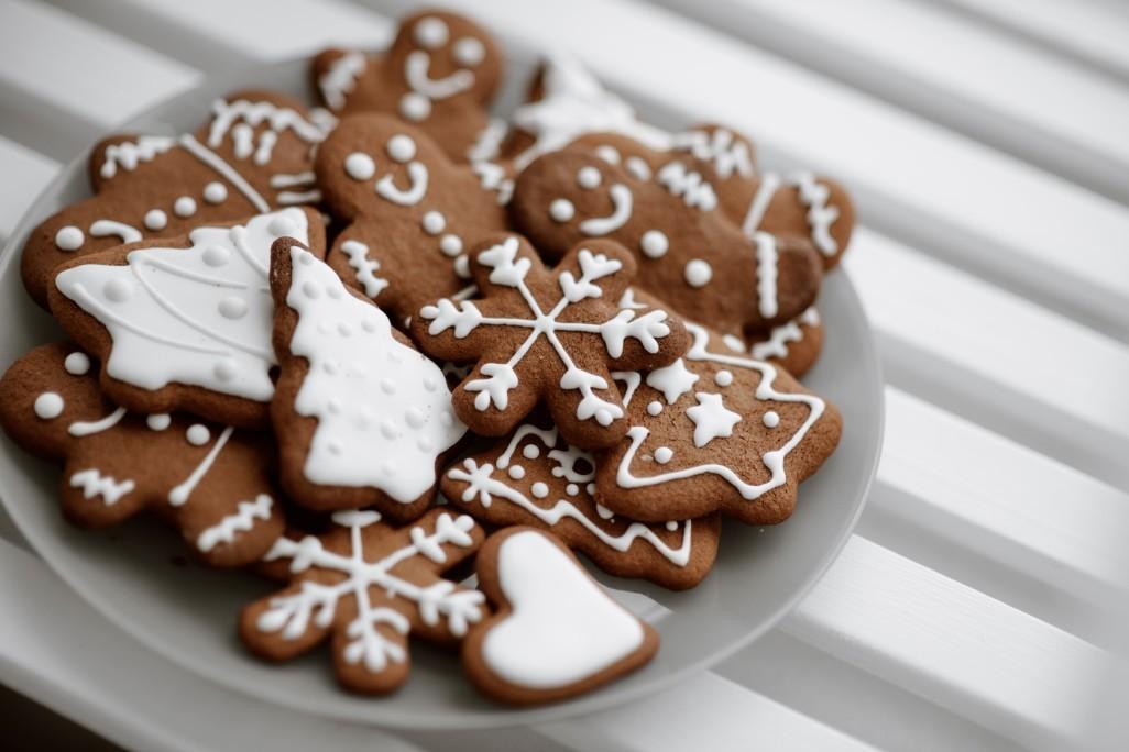 παραδοσιακά χριστουγεννιάτικα μπισκότα ginger