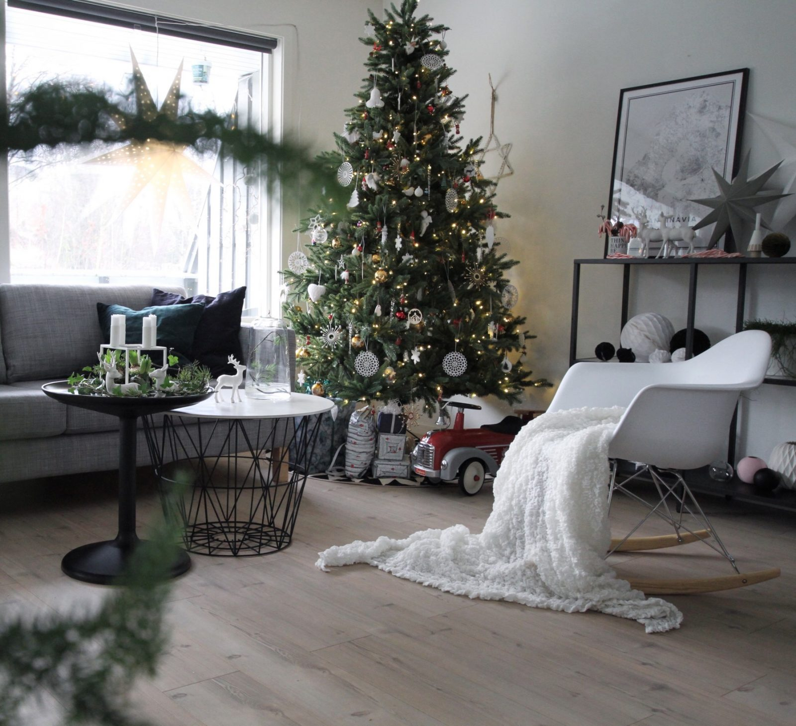 feng shui και χριστουγεννιάτικη διακόσμηση