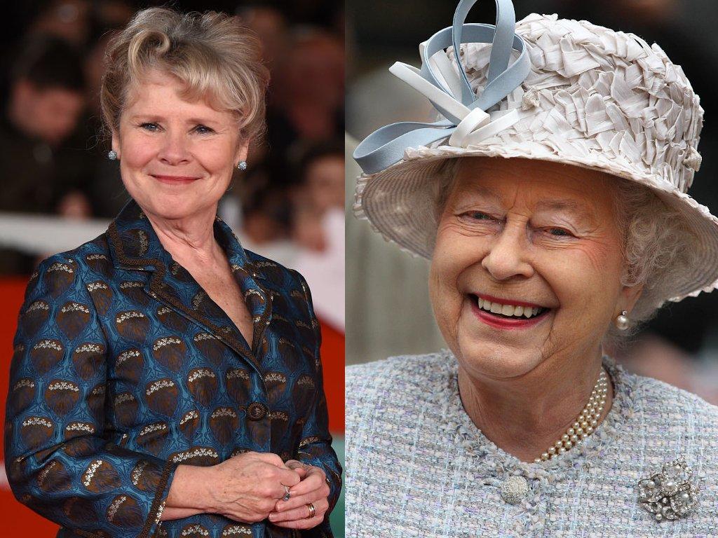 the crown η imelda θα υποδυθεί την βασίλισσα