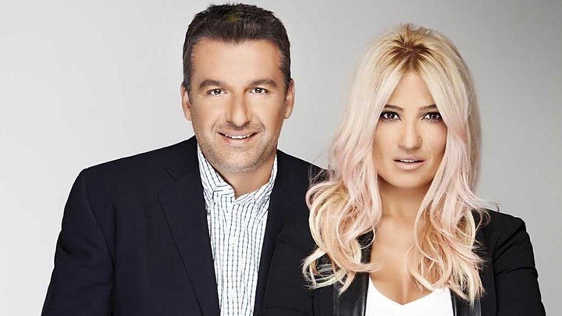Γιώργος Λιάγκας και Φαίη Σκορδά ξανά μαζί στον ΑΝΤ1