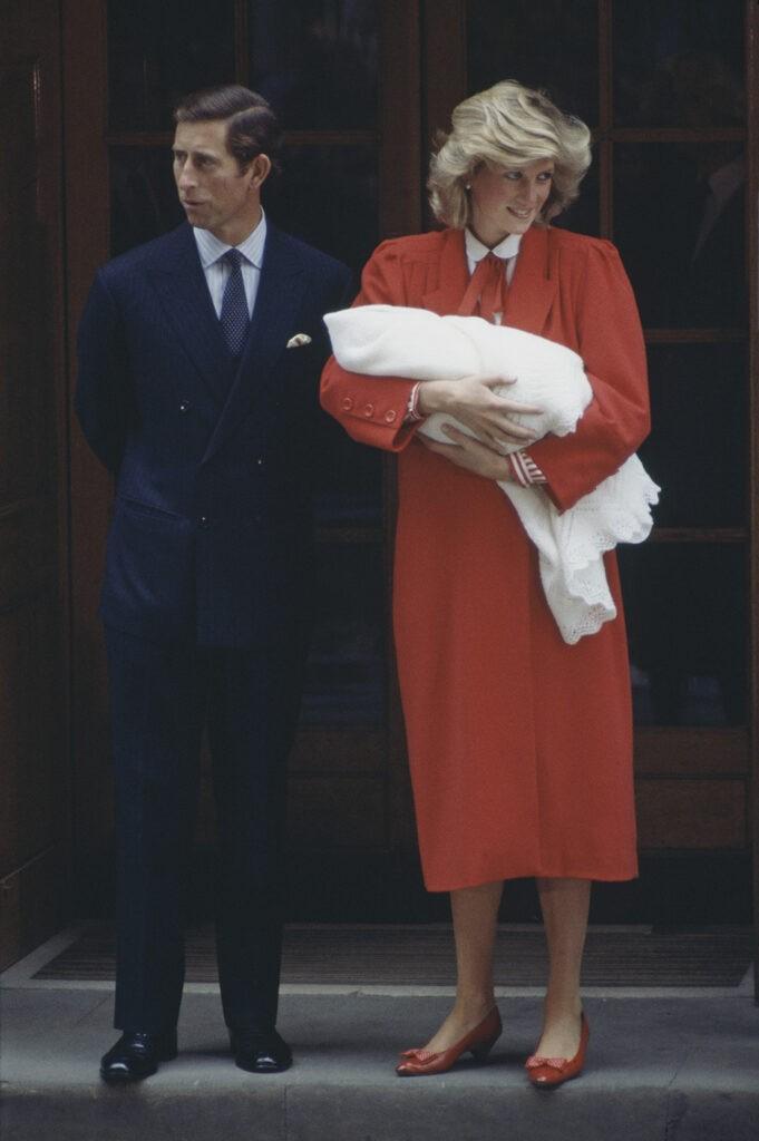 Κάρολος και Diana Με τον πρίγκιπα Harry