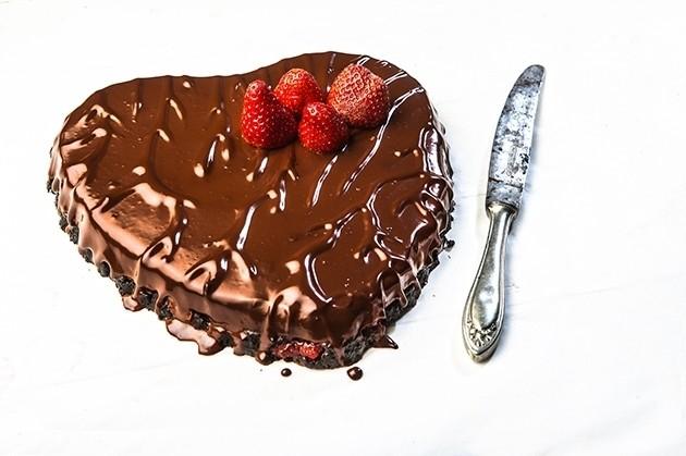 τούρτα αγίου βαλεντίνου από την Αργυρώ Μπαρμπαρίγου