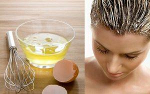 αυγό για σπιτική μάσκα μαλλιών