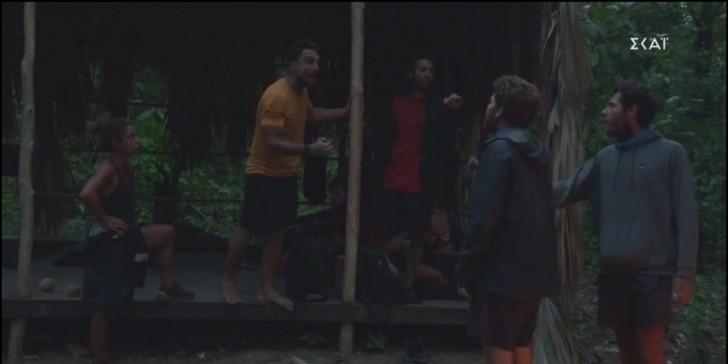 Survivor- ΄Σάκης και Τζέιμς τσακώνονται